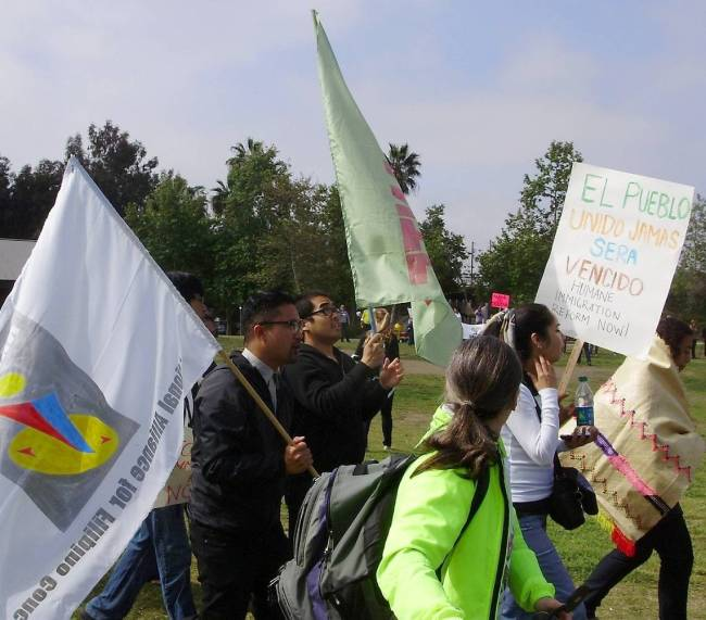 Latest News About Immigration Reform 2013: LB Immigration Reform Rally Draws Diverse Groups
