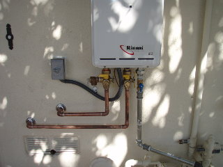 DrainPros tankless water heater