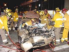 Blue Line crash, 7th & Pacific, Feb. 9/03