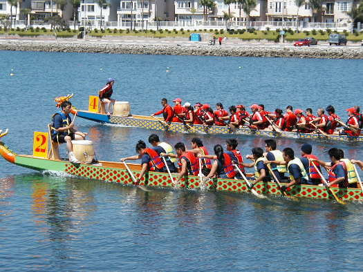 Dragon boat races, Aug 1/04