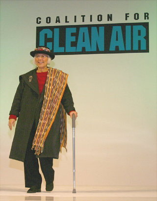 B. Lowenthal, Coalition for Clean Air Fashion Show 12/9/04