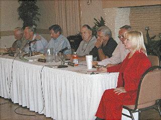Golf meeting July 26/04