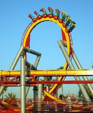 Knotts coaster