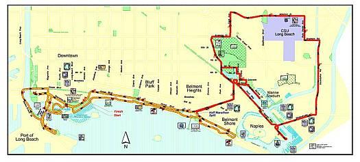 LB Marathon map