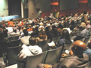 Cabrillo High meeting, March 5/05