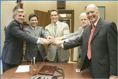 Gov, Legislators budget agreement July 5/05