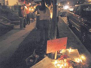 Caitlin Finucane memorial 11/28/05