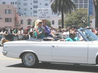 Gay pride parade 5/22/05