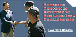 Governor website Homeless Aug. 31/05