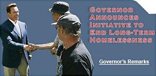 Governor website Homeless Aug. 31/05