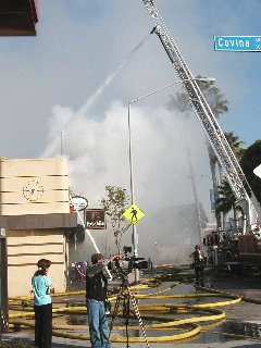 Legends fire June 21/05