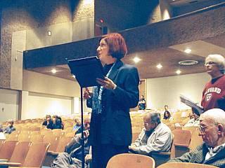 LNG EIR hearing Nov. 30/05 Millikan High