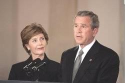 Bush re Pope