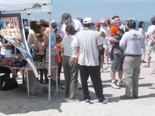 Beach clean up June 17/06