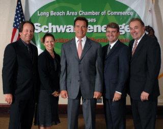 Chamber endorses Schwarzenegger, Sept. 06