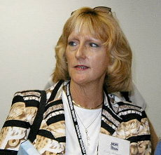 Kristy Ardizzone, 2002 airport facility opening