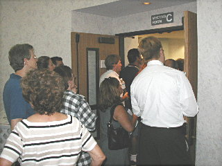 HB LGB meeting, July 31/03