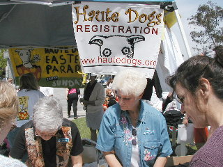 Haute dogs April 20/03