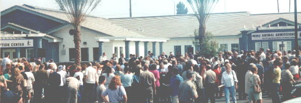 Animal Shelter Opening, Aug. 10, 2001