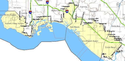 46th Congressional district