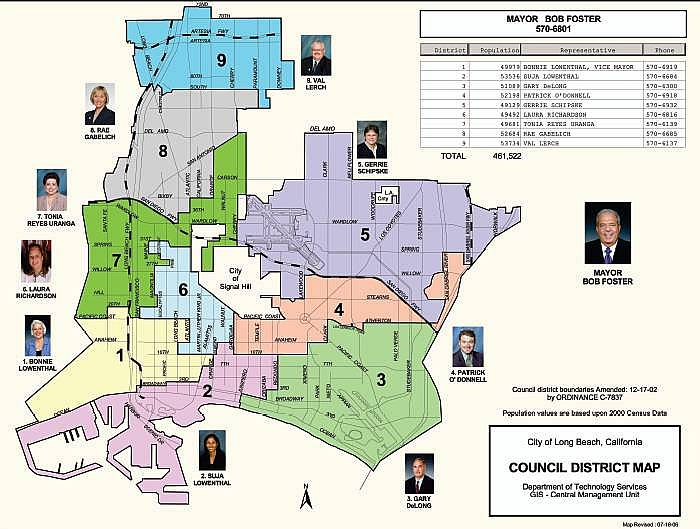 To Expand The Map Significantly And View In Pdf Form Click Expandable Version Of Full Council District