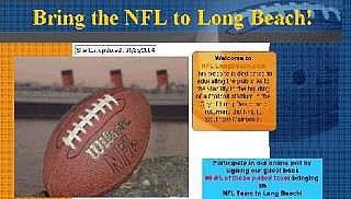 Screen grab nfllongbeach.com
