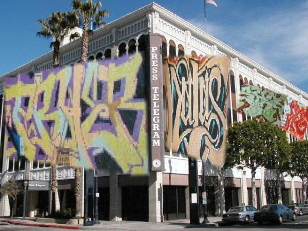 Editorial re PT and graffiti