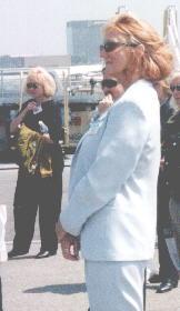Kristy Ardizzone at 5-24-01 JetBlue News Conf