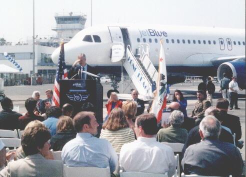 JetBlue News Conf. 5-23-01