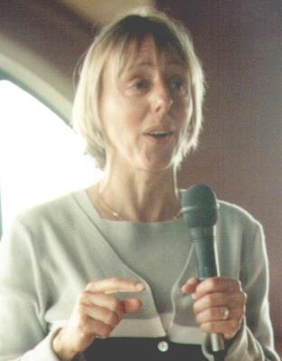 Medea Benjamin addresses LBCUR