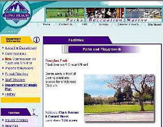Douglas Park web page, 5/5/04