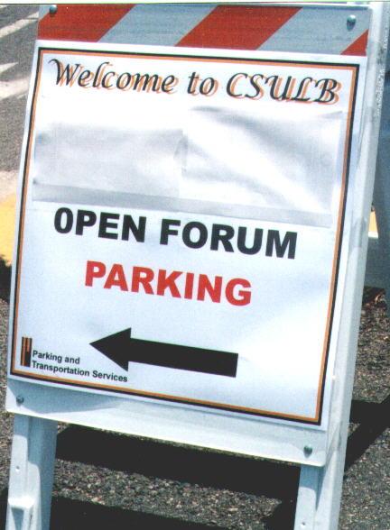 Parking Sign After