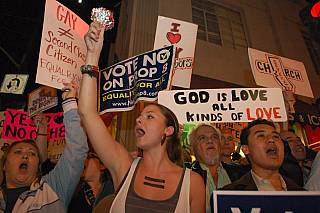 Prop 8 demonstration Nov. 7/08