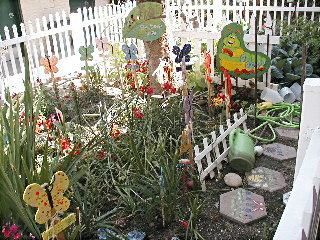 Mrs. Crane's garden, April 2004