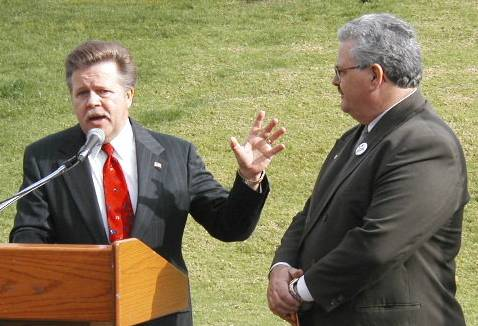 Councilman Shultz & Val Lerch