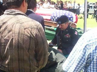 Garcia burial, July 25/08