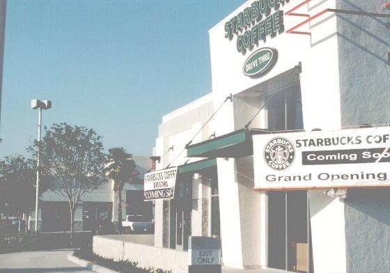 ELB Drive-Thru Starbucks