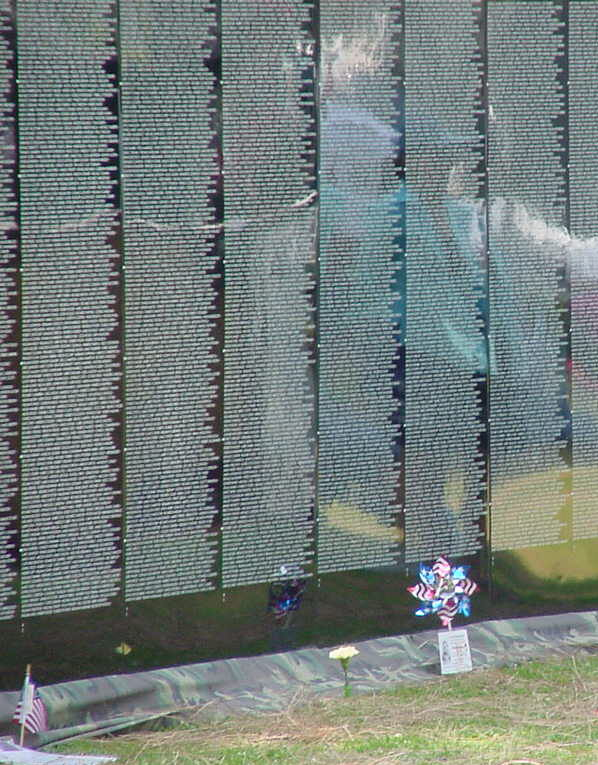 Vietnam Wall 2 June 30/02