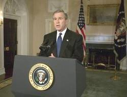 Pres. Bush on capture of Saddam Hussein