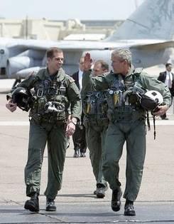 Pres. Bush declares Iraq combat ended, May 1/03
