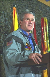 Pres. Bush in Baghdad, Nov. 27/03