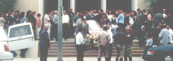 Graciela Zavala funeral
