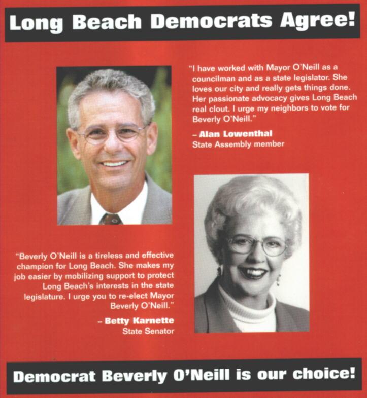 O'Neill Democrat mailer, May '02
